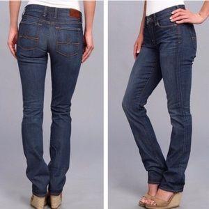 Lucky Brand Sofia straight leg jeans dark wash